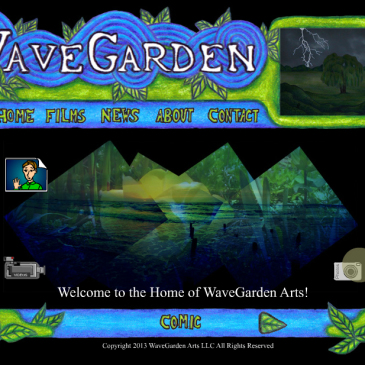 Fond Farewell for the Old WaveGarden Arts Website