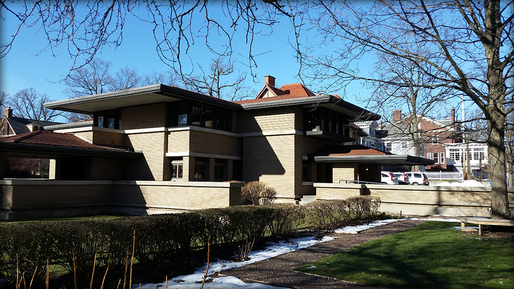 Frank Lloyd Wright Meyer May House