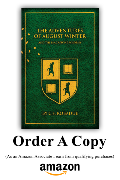 Adventures of August Winter and the Blackstone Academy Amazon Link