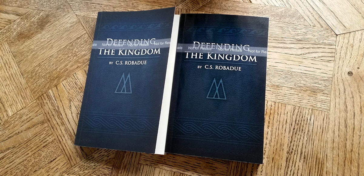 Defending the Kingdom Cover Art comparison